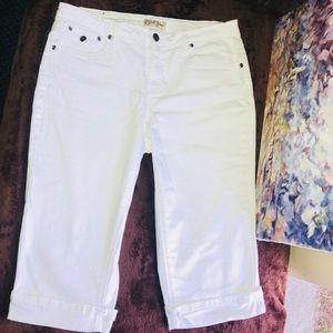 Earl Jeans Roll-Ups Sz10